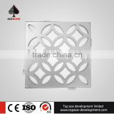 Easy cleaning and maintenance 1800*5000mm art carving aluminium plate stone wall used for column decoration