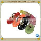 New Arrival Good Quality Flip Flops for Women Slippers Transparent Flat Heel Slippers                                                                         Quality Choice