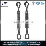 Manufacturer US type forged galvanized large turnbuckle with eye and eye