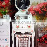 4 Chinese manufacturing ~ Korean - European - Garden - wood furniture, wooden dresser - dressing cabinet - with dressing stool