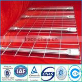 Galvanized wire mesh shelf/wire mesh rack decking/wire deck panel on selective pallet rack for supermarket/warehouse                                                                         Quality Choice