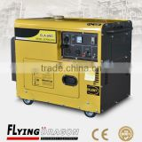 9 kw power generation equipment price with air cooled system silent type portable genset