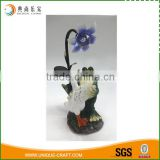 2016 resin dancing garden animal with solar light decoration                                                                                                         Supplier's Choice