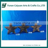 2014 hot sell new design high quality holiday time star decoration christmas tree decoration