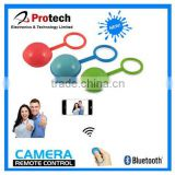 micro bluetooth4.0 camera shutter unit support positioning and voice recording function for IPhone and IOS7.0