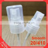 20/410 Yuyao Factory OEM 0.14CC plastic thread Screw mist sprayer for personal cosmetics