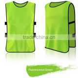 Cheap Wholesale Advertising Sports Against Jersey Bibs Custom Print Colorful Adult Children Size Football Vest