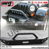 wholesale china 4x4 accessories front Bumper for wrangler 4x4 bull bar