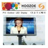 outdoor led video billboards, 10mm rgb led display,led advertising billboard with air-line cabinet,