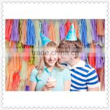 wholesale colorful tissue paper tassel garland