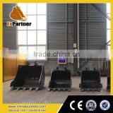 screen bucket of excavator parts, excavator grid bucket, skeleton screening bucket made in china