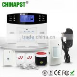 New Produts GSM Home Alarm System 99 Wireless & 7 Wired Zone wireless home burglar alarm monitoring PST-GA997CQ