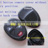 High quality GC 4+1 button remote cover without battery position without writing on the back cover