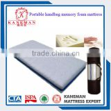 wholesale Portable vacuum compressed bag visco memory foam mattress roll in box for bed