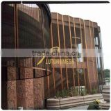 Free Samples Outdoor metal mesh curtain Outdoor mesh fabric Decorative metal outdoor screens Sale Low Price Cheap