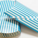 Blue and White striped Pillow Boxes PILLOW GIFT BOXES PARTY FAVORS SHOWERS GIFTCARD HOLDER