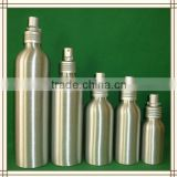 180ml Aluminium bottle with plastic lotion pump