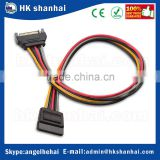15 pin male to 15 pin female sata power extension cable serial ATA SATA hard drive adapter power cable
