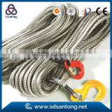 synthetic winch boat tow rope
