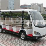 Durable graceful used passenger coaster mini electric tourist bus