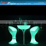 led bar night glow chair & bar chair for party&led plastic color cccchanging bar chair