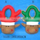 holiday items/ Christmas gift polyester door hanging/hanging ornament/ dropornament/ Christmas decoration