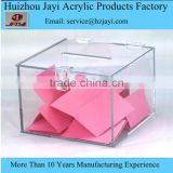 Factory wholesale custom acrylic waterproof mail box,clear plastic mail box
