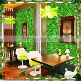 Wholesale artificial grass wall decor