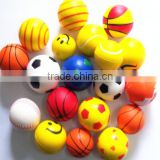 Adult small pu form colorful toys custom shape bulk stress balls