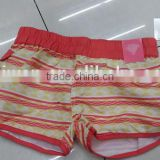 High quality comfortable beach girl bermuda shorts clearance stock