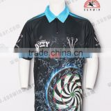 INquiry about custom sublimation cheap darts shirts / dart jersey / dart cloth