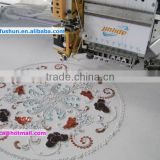 FS-901 sequin and cording and easy towel mixed computerized Embroidery Machine
