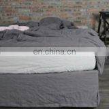 hot sale high quality pure linen stone washed bedding sets/duvet sets /bed sheet sets/queen size bed sets free shipping