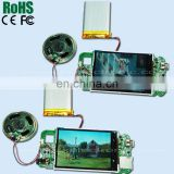 2.4''4.3''5''7'' inch tft lcd module for video book video brochure