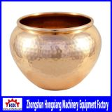 Hammered Solid Copper Small Vase Making Spinning Machines Equipment