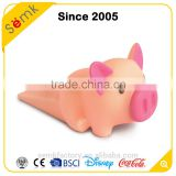 Novelty pig custom funny rubber eva pvc material door stopper wholesale