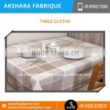Hot Sale on Most Demanded Pure Cotton Table Cloth by Leading Industries