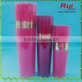 30/50/80/120ml rose red pyramid round acrylic bottles, 1/1.6/2.6/4oz high-end acrylic cosmetic containers