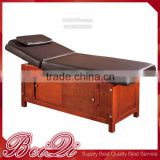 Factory Price Customize Acupressure Wooden Massage Bed with Pillow
