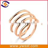 Bulk wholesale gold spring shape napkin ring