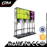 "46"" X 9 Club Led Display Screen Indoor Floor Standing Video Wall Digit Display Flexible Led Multi Screen Video Wall"