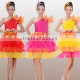 Factory in-stock Modern dance costume bubble dress Christmas Dance Costumes