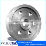 High quality industrial use coke-quenching vehicle wheel wheels forgings
