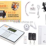 CCTV-01 GSM security gent fire wireless fire easy alarm alarm system