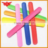 summer sports silicone blank slap wristband for kids