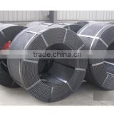7 wire 9.53MM low relaxation prestressed concrete strand for bridge construction
