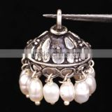 925 Solid Sterling Silver Wholesale Jhumka Bali Beads