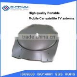 Hot sale!! High gain mobile car TV satellite antenna with beautiful appearance for you