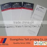 High quality sliding card blister packaging