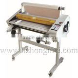 New Arrival Digital 650mm Size FM-650 Roll Laminator for roll laminating film with Stand
